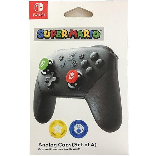 Set Nút Bọc Analog Caps Nintendo Switch Pro Controller - Super Mario