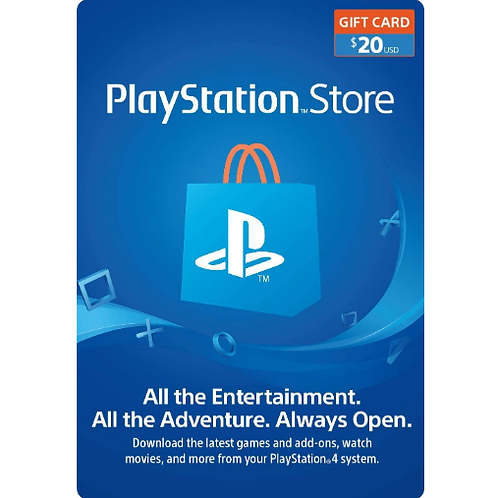 PlayStation Network Gift Card 20$ - Digital Code