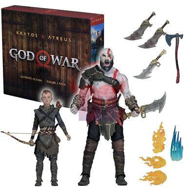 Neca Action Figure God of War Ultimate Kratos and Atreus