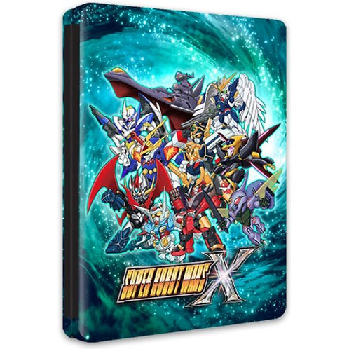 Steelbook - Super Robot Wars X