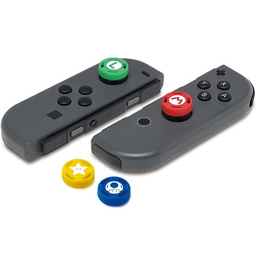 Set Nút Bọc Analog Caps Joy-Con Controller - Super Mario