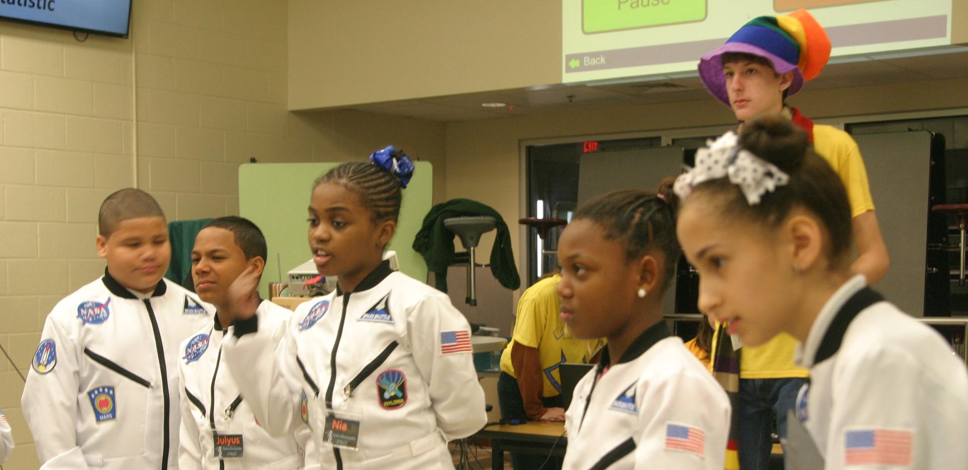 AstroBOnauts at Robotics competition