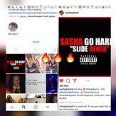 Sasha Go Hard Slide CoverArt