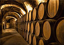 alley-of-barrels-at-the-winery-elaine-pl
