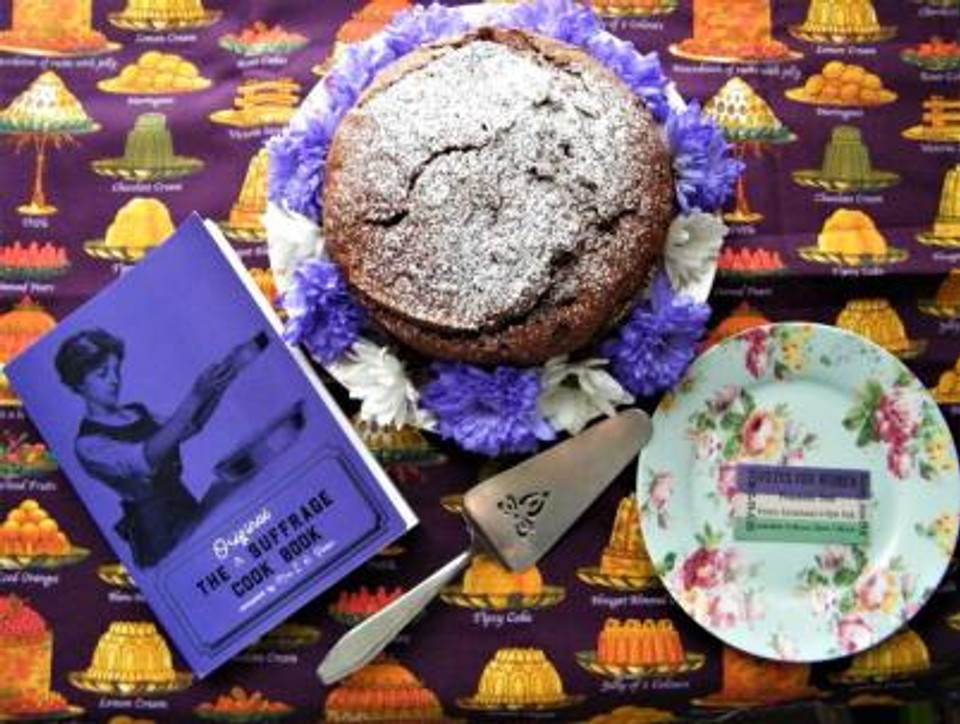 Suffrage Cook Book Emma Muscat 2018