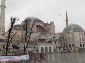 Hagia Sophia, or how to walk around in an orderly fashion