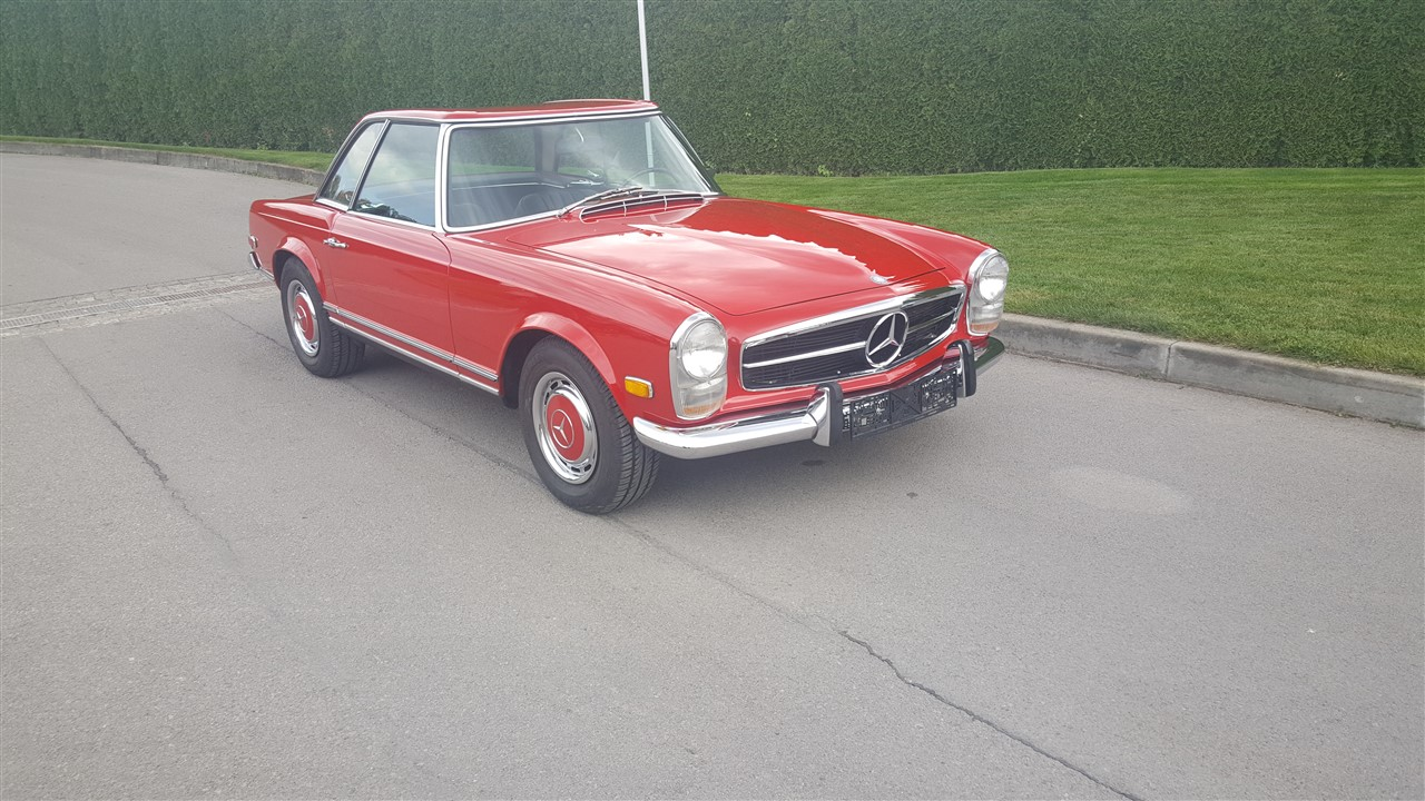 cs-car-sl-mercedes benz 280sl pagoda red