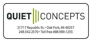 Quiet Concepts Acoustical Sound Panels