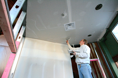 PCI One Source Contracting Logo - construction Detroit contracting flooring painting design michigan