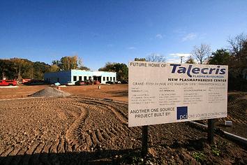 Talecris Plasma Center  General Contracting Farmington Hills, MI