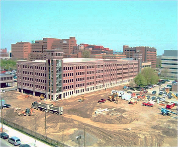 Wayne State University Parking Garage   Construction Management Detroit, MI