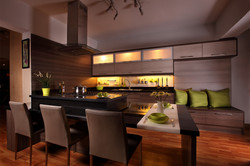 A Kitchen in Sequence Show Room