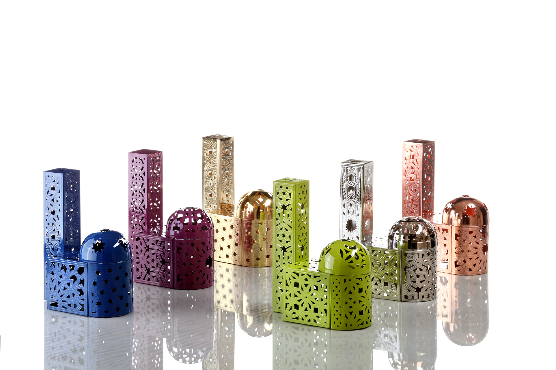 Mabruka Metal Blocks collection