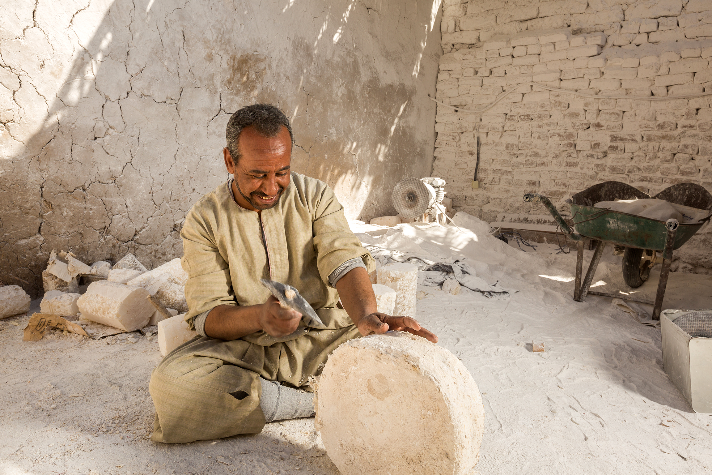 Luxor Alabaster Workshop