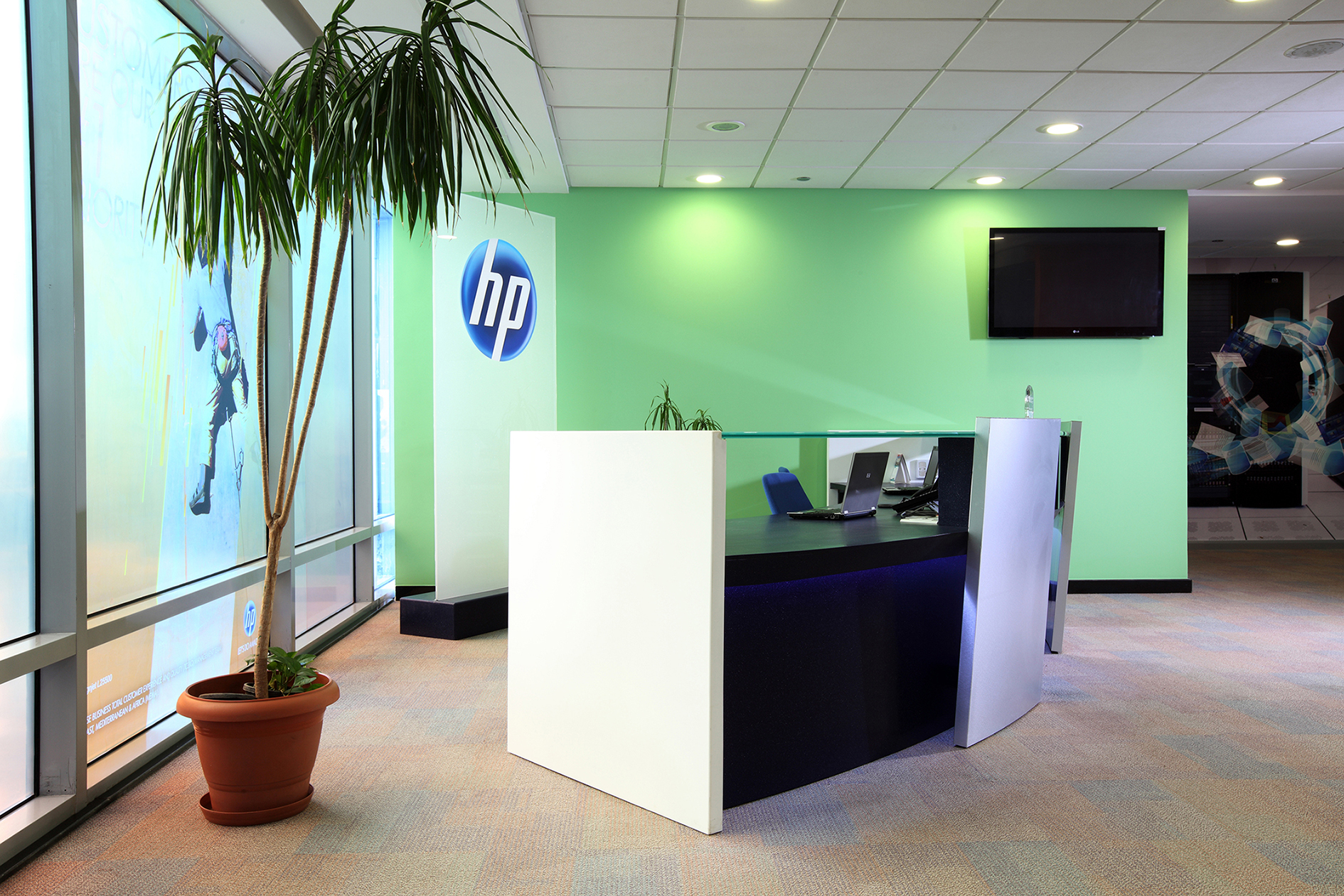 HP Offices At Smart Village