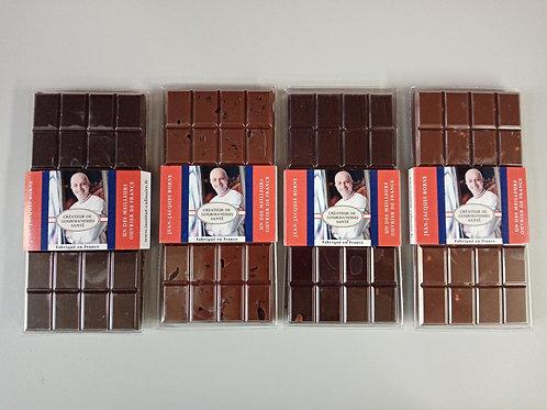 """Tablettes chocolat """"JJB"""" 100 g"""