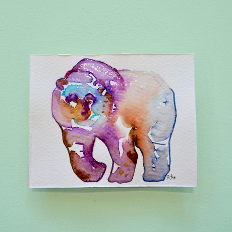 ours 1 - aquarelle