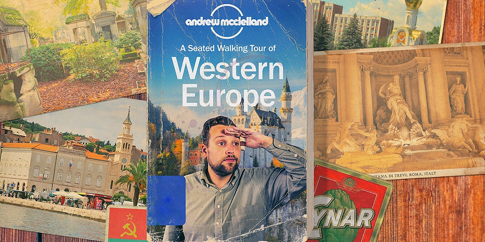 A Seated Walking Tour of Western Euorope - Online
