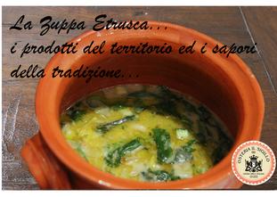 La Zuppa Etrusca dell'Osteria: tra storia e leggende