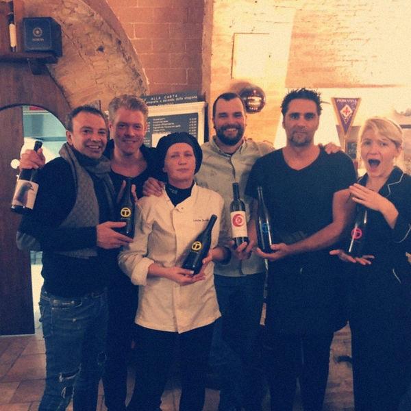 Team con Azienda Agricola Oliviero Toscani