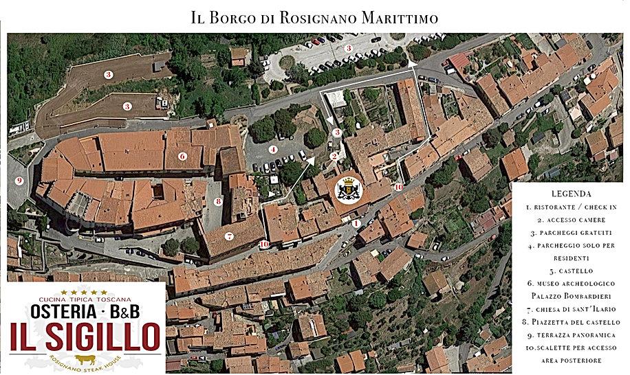 mappa rosignano marittimo centro storico