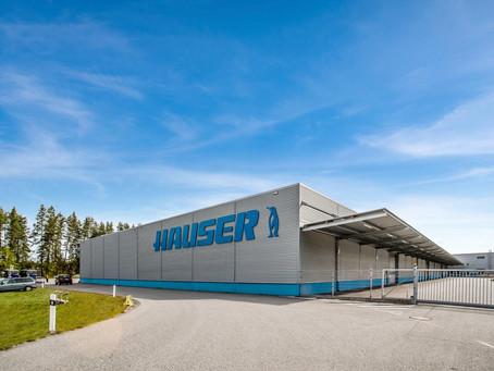 Завод холодильного оборудования HAUSER!