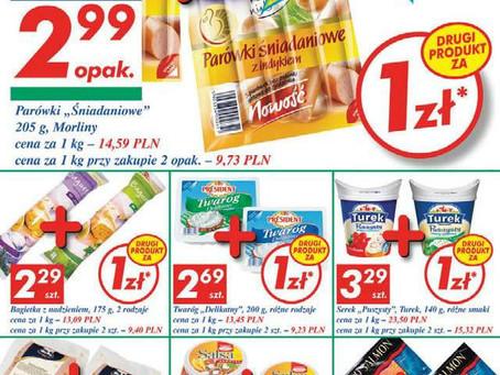 Цены на продукты в Польше