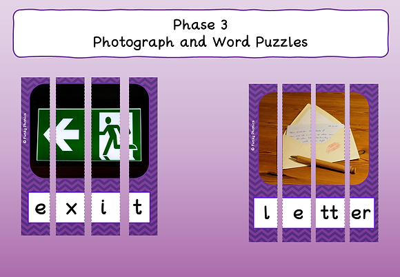 Phase 3 - Photograph Word Puzzles