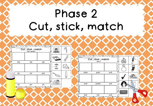 Phase 2 - Cut, Stick, Match
