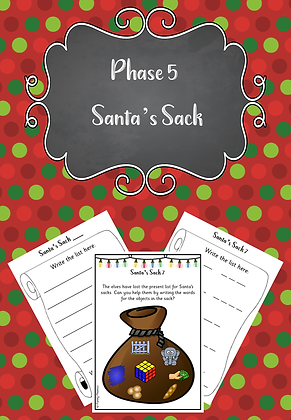 Christmas Themed - Phase 5 Santa's Sack