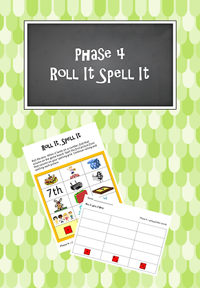 Phase 4 - Roll It Spell It