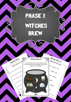 Halloween Themed - Phase 3 Witches Brew