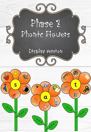 Phase 2 - Phonics Flowers