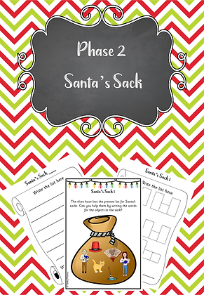 Christmas Themed - Phase 2 Santa's Sack