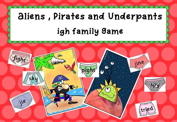 igh Family - Buried Treasure Game