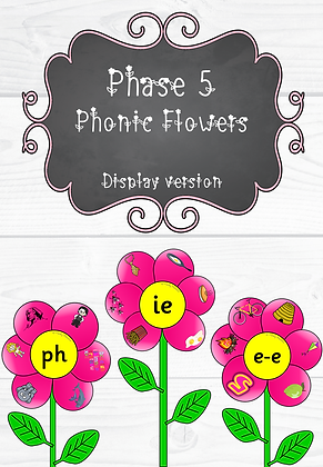 Phase 5 - Phonic Flowers