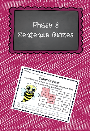 Phase 3 - Sentence Mazes
