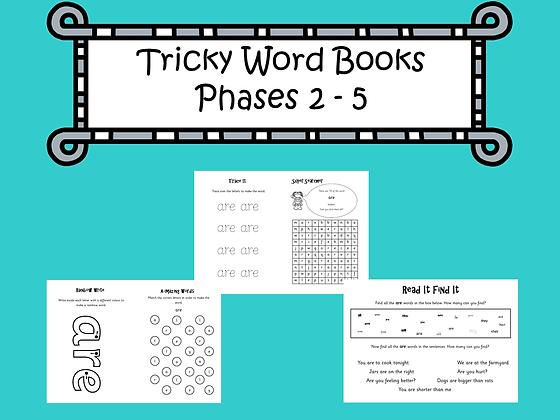 Tricky Words Books