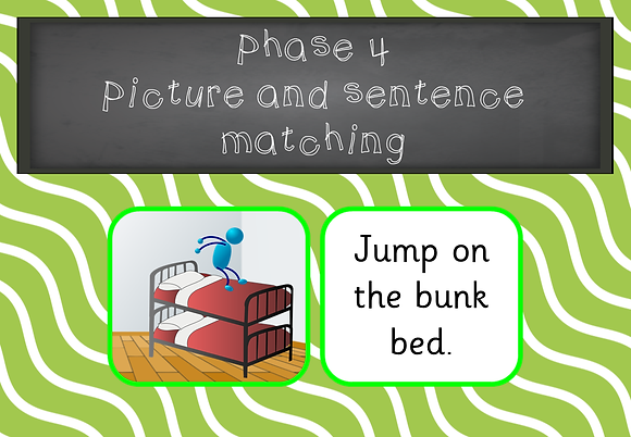 Phase 4 - Picture and Sentence Matching