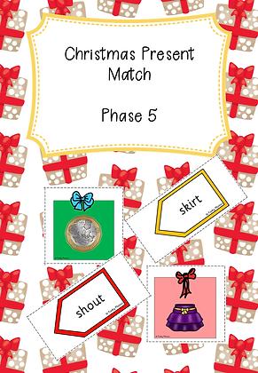 Christmas Themed - Christmas Present Match