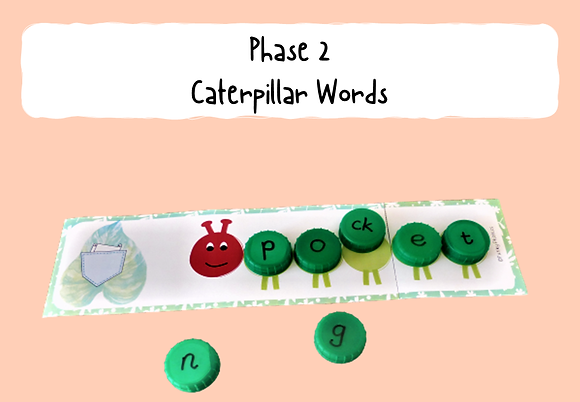 Phase 2 Caterpillar Words