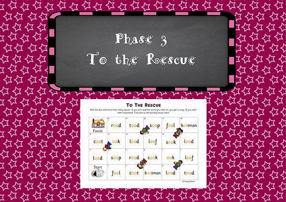 Phase 3 - To the Rescue Games