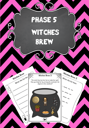 Halloween Themed - Phase 5 Witches Brew