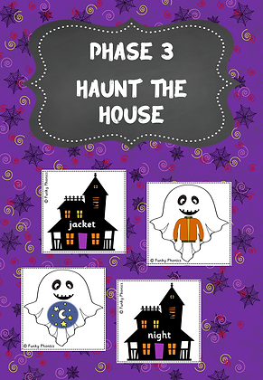 Halloween Themed - Phase 3 Haunt the House