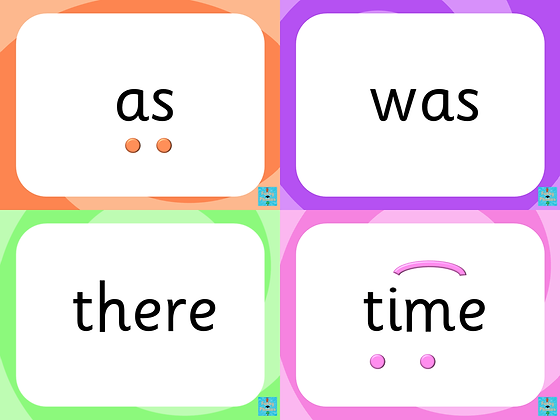 High Frequency and Tricky Word PowerPoint - Phases 2-5