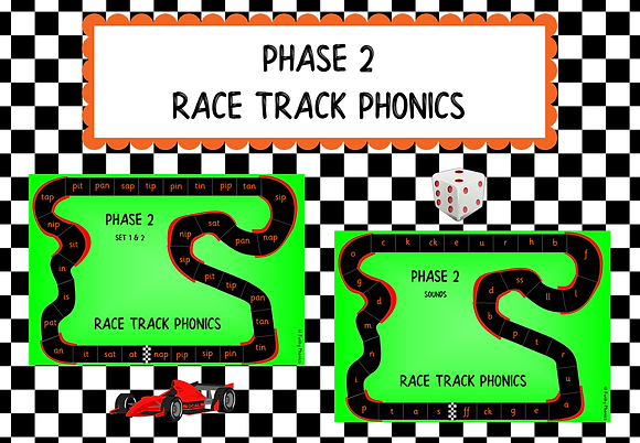 Phase 2 - Race Track Phonics
