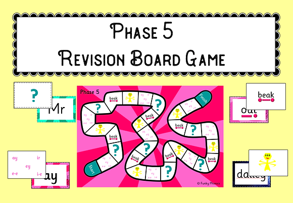 Phase 5 Revision Board Game