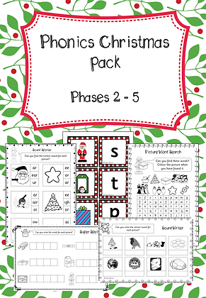 Christmas Phonic Pack
