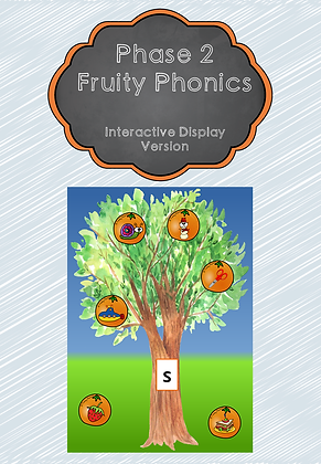 Phase 2 - Fruity Phonics