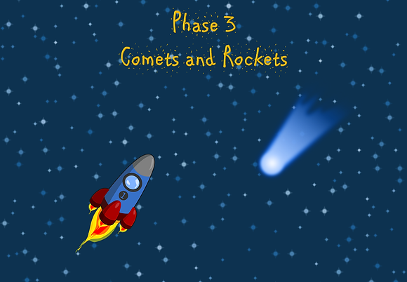 Phonics Screening - Phase 3 Comets and Rockets